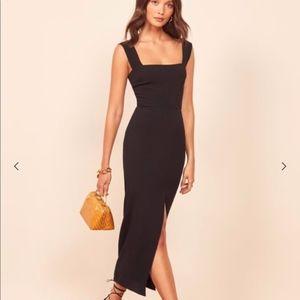 Reformation Graciella Dress - Black
